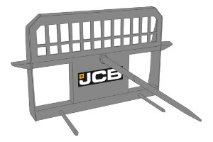 JCB Single Bale Spike Agriculture Attachment Dubai