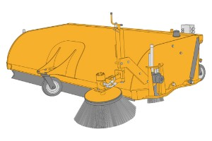JCB SC214 Sweeper Collectors Dubai