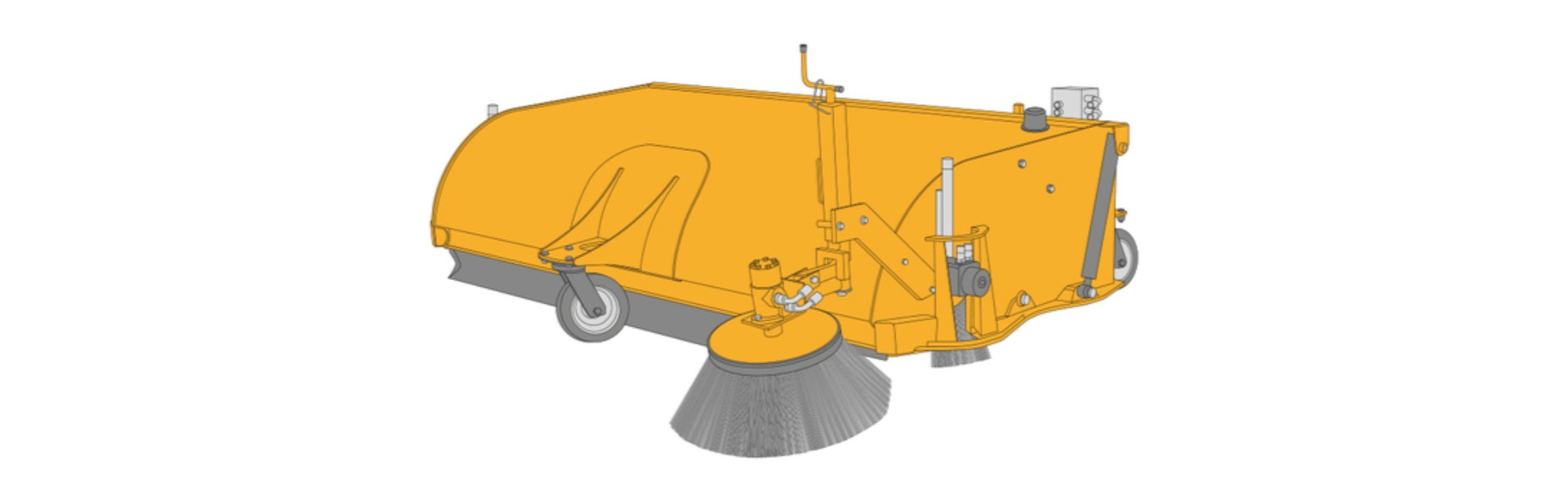 JCB SC210 Sweeper Collectors Dubai