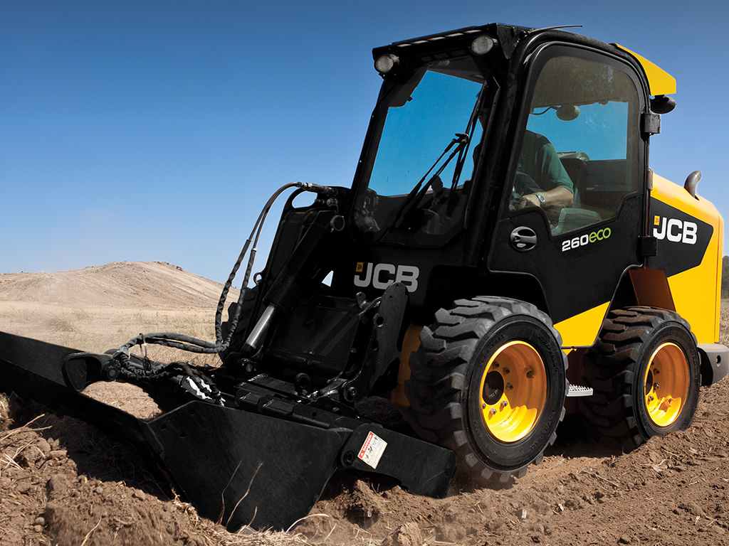 JCB 225 Skid Steer Loaders Dubai