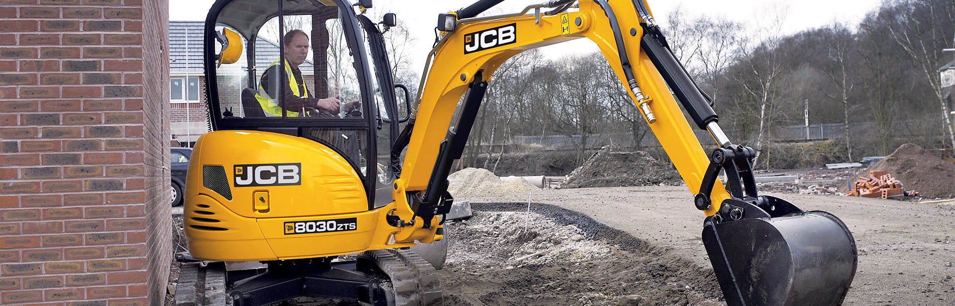 JCB 8030 Mini Excavators Dubai
