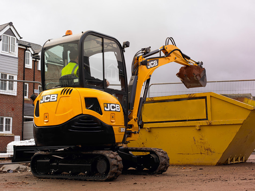 JCB 8026 Mini Excavators Dubai