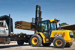 JCB Rough Terrain Forklifts Price UAE